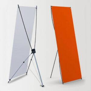 Баннерный стенд JUST X Strong, рекламное поле 80 х 180 см