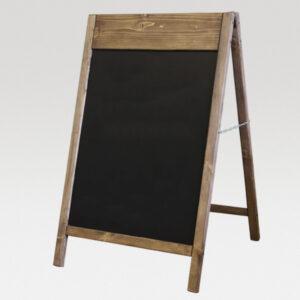 Деревянный спотыкач для надписей мелом и маркерами