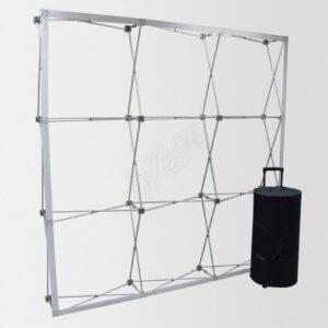 Прямой зонтичный стенд JUST Up 3 x 3 Velcro, 3 х 3 секции