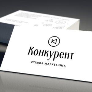 печать визиткок для студии маркетинга