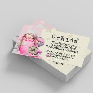 "визитки ""Orhida"""