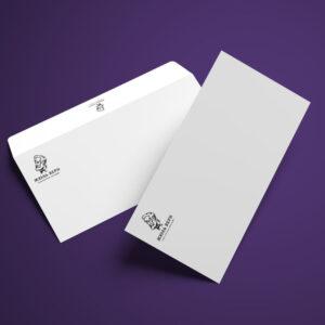 печать конвертов с логотипом ресторана