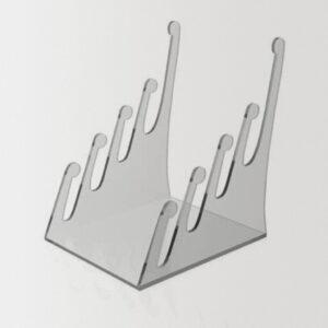 подставка из оргстекла для тарелок