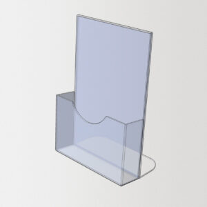 подставка из оргстекла под флаера
