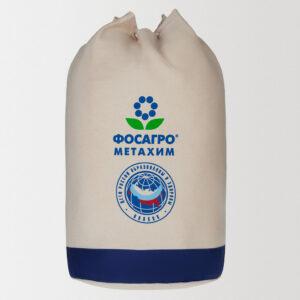 Холщовый рюкзак с нанесением логотипа