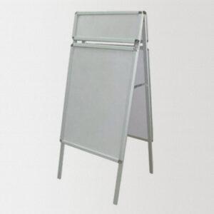Штендер прямоугольный СИТИ-КЛИК с фризом, рекламное поле 60 х 80 см, фриз 60 х 20 см