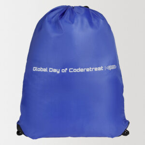 Рюкзак из полиэстера с нанесением логотипа