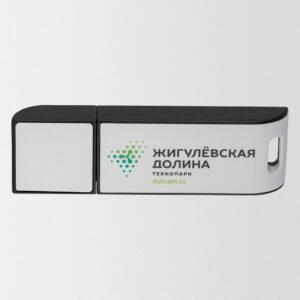 Флешка ПРОМО с нанесением логотипа