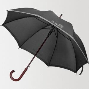 Зонт-трость светоотражающий Unit Reflect с нанесением логотипа