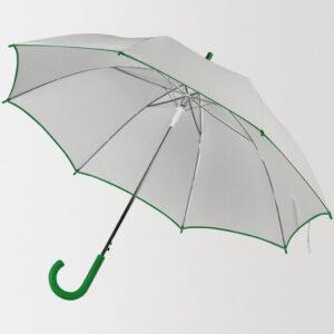 Зонт-трость Unit White с нанесением логотипа