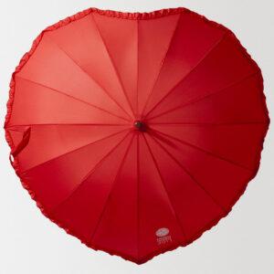 Зонт-трость «Сердце» с нанесением логотипа