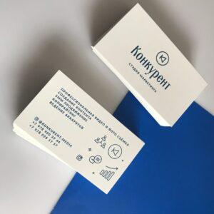 визитки для студии маркетинга